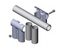 Verbinder-90° 1-fach parallel Parallel-Verbinder