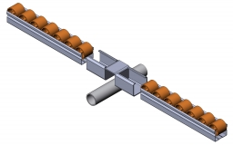 Röllchenleistenaufnahme Verlängerung Röllchenleiste