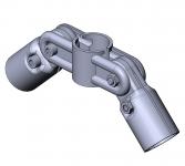 Gelenkverbinder 2-fach Rohrgelenk