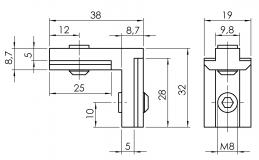 Nutwinkel-Nut-10-außen 4101-S-1002-VZ-01